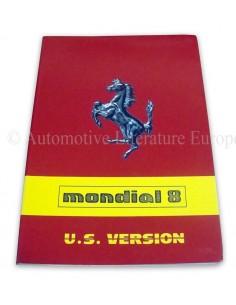 1981 FERRARI MONDIAL 8 INSTRUCTIEBOEKJE USA VERSIE 215/81