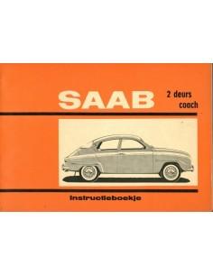 1964 SAAB 96 INSTRUCTIEBOEKJE NEDERLANDS
