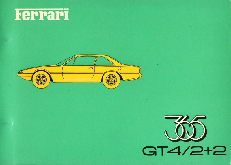 1973 ferrari 365gt4 2 2 spare parts catalog 78 73. Black Bedroom Furniture Sets. Home Design Ideas