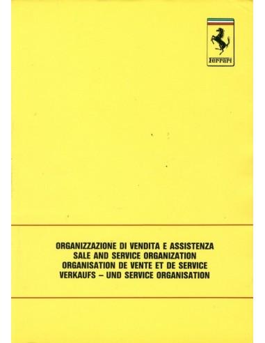 1989 VERKOOP & SERIVCE ORGANISATIE INSTRUCTIEBOEKJE 560/89