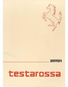 1985 FERRARI TESTAROSSA INSTRUCTIEBOEKJE 344/85