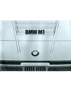 1978 BMW M1 BROCHURE NEDERLANDS