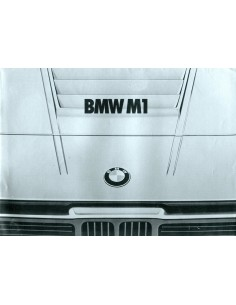 1978 BMW M1 BROCHURE NEDERLANDS