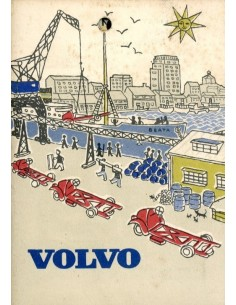 1954 VOLVO FABRIEK BROCHURE ZWEEDS