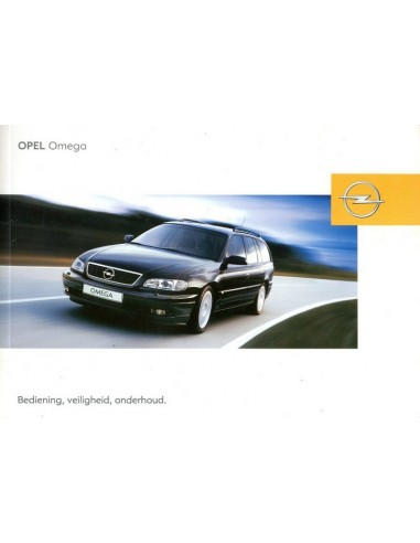 2002 opel omega owners manual dutch rh autolit eu Vauxhall Omega Estate 2001 Vauxhall Omega