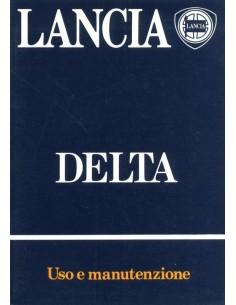 1983 LANCIA DELTA INSTRUCTIEBOEKJE ITALIAANS