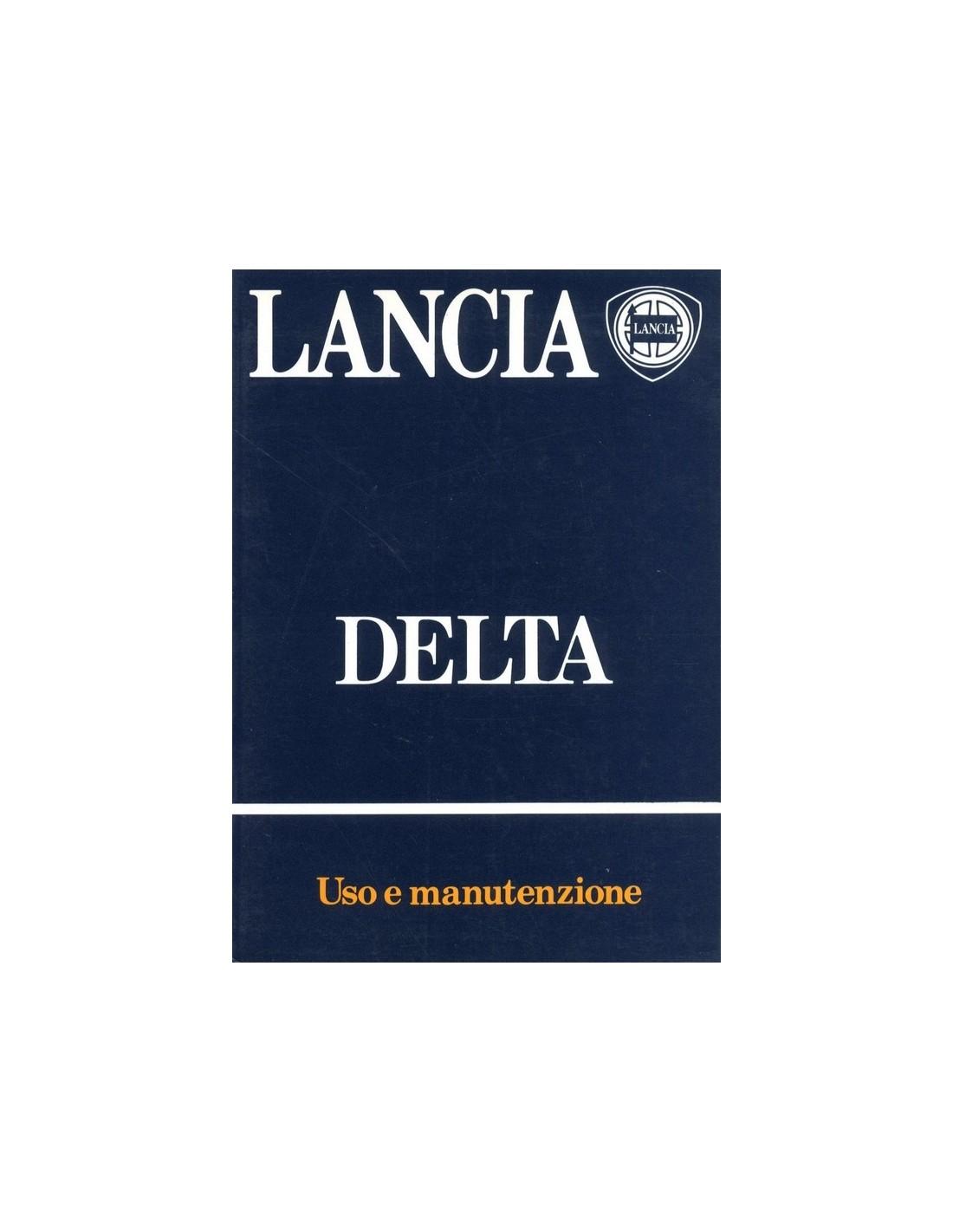 1983 lancia delta owners manual italian rh autolit eu delta owners manual/1345985 pdf delta 37-866x owner's manual
