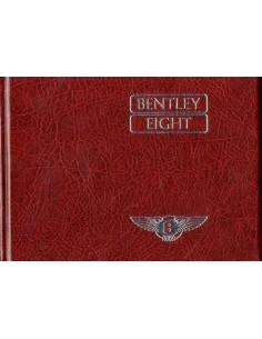 1986 BENTLEY EIGHT HARDCOVER INSTRUCTIEBOEKJE ENGELS