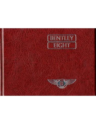 1986 BENTLEY EIGHT HARDCOVER INSTRUCTIEBOEKJE ENGELS