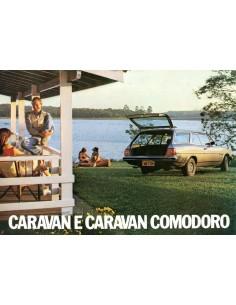 1981 CHEVROLET CARAVAN & CARAVAN COMODORO LEAFLET BRAZILIAANS