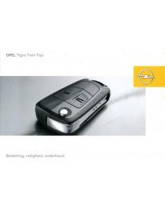 2006 OPEL TIGRA TWIN TOP INSTRUCTIEBOEKJE NEDERLANDS