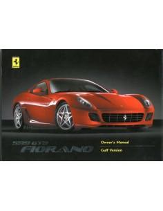 2008 FERRARI 599 GTB FIORANO INSTRUCTIEBOEKJE ARABISCH 3408/08