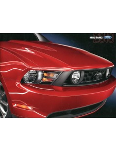 2010 FORD MUSTANG BROCHURE ENGELS USA