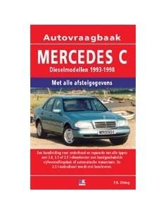 1993 - 1998 MERCEDES BENZ C KLASSE W202 DIESEL VRAAGBAAK NEDERLANDS