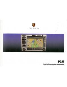 2007 PORSCHE PCM INSTRUCTIEBOEKJE NEDERLANDS