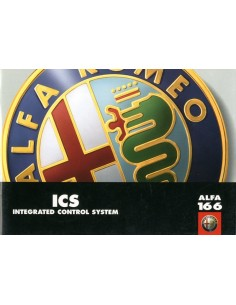 1998 ALFA ROMEO 166 ICS INSTRUCTIEBOEKJE DUITS