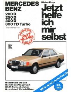 1984 - 1988 MERCEDES BENZ E KLASSE W124 DIESEL VRAAGBAAK DUITS