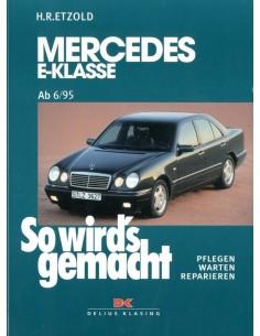 1995 - 1997 MERCEDES BENZ E KLASSE W210 BENZINE VRAAGBAAK DUITS