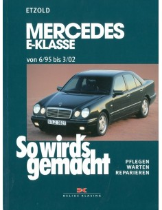 1995 - 2002 MERCEDES BENZ E KLASSE BENZINE VRAAGBAAK DUITS