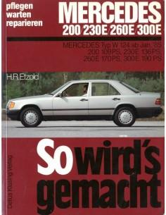 1985 - 1988 MERCEDES BENZ E KLASSE W124 BENZINE VRAAGBAAK DUITS