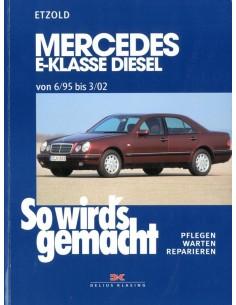 1995 - 2002 MERCEDES BENZ E KLASSE W210 DIESEL VRAAGBAAK DUITS