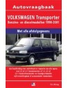 1990 - 2001 VOLKSWAGEN TRANSPORTER PETROL DIESEL REPAIR MANUAL DUTCH