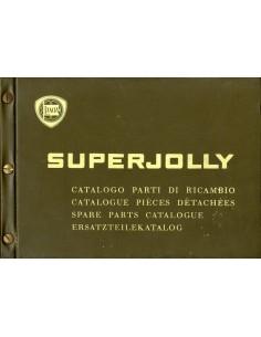 1968 LANCIA SUPERJOLLY ONDERDELENHANDBOEK