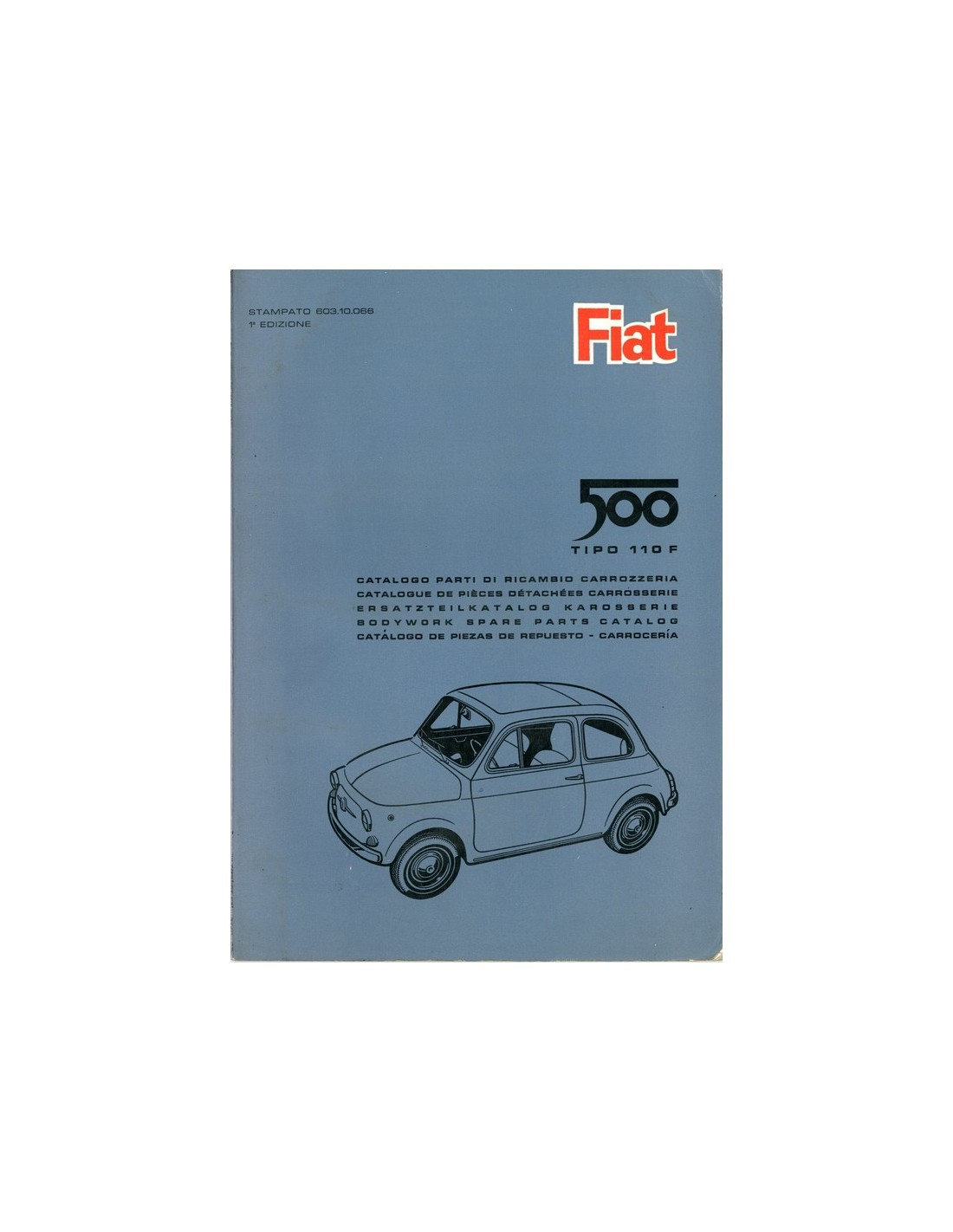fiat 500 parts catalogue uk
