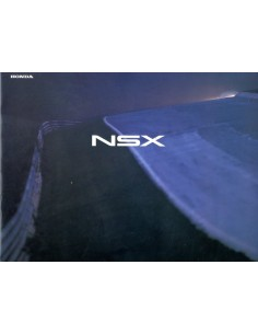 1997 HONDA NSX BROCHURE JAPANS