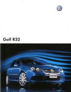 2007 VOLKSWAGEN GOLF R32 BROCHURE JAPANS