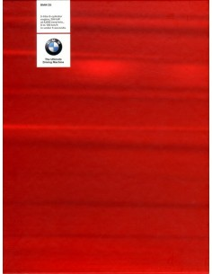 1999 BMW Z8 HARDCOVER BROCHURE ENGELS