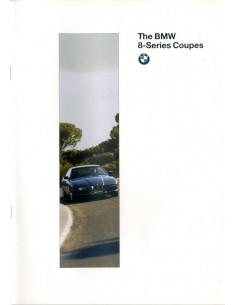 1996 BMW 8 SERIES BROCHURE ENGELS USA