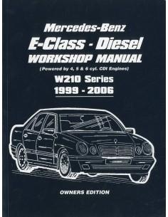 1999 - 2006 MERCEDES BENZ E KLASSE W210 DIESEL VRAAGBAAK ENGELS