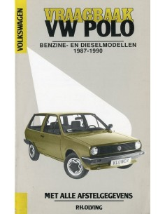 1987 - 1990 VOLKSWAGEN POLO BENZINE & DIESEL VRAAGBAAK NEDERLANDS