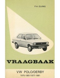 1975 - 1981 VOLKSWAGEN POLO & DERBY BENZINE VRAAGBAAK NEDERLANDS