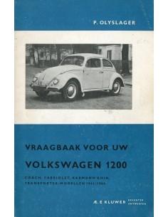 1961 -1964 VOLKSWAGEN 1200 VRAAGBAAK NEDERLANDS