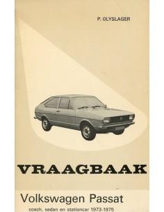 1973 - 1975 VOLKSWAGEN PASSAT VRAAGBAAK NEDERLANDS