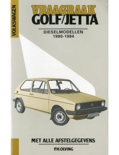 1980 - 1984 VOLKSWAGEN GOLF & JETTA DIESEL VRAAGBAAK NEDERLANDS