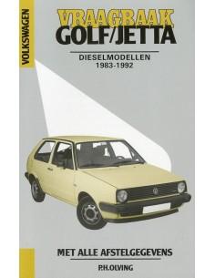1983 - 1992 VOLKSWAGEN GOLF & JETTA DIESEL VRAAGBAAK NEDERLANDS