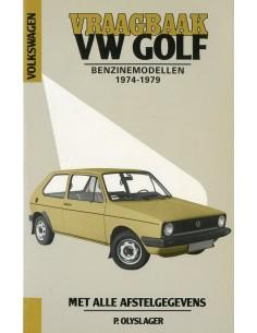 1974 - 1979 VOLKSWAGEN GOLF BENZINE VRAAGBAAK NEDERLANDS