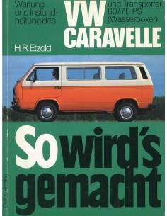 1982 - 1983 VOLKSWAGEN TRANSPORTER & CARAVELLE BENZINE VRAAGBAAK DUITS