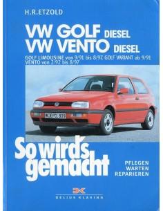 1991 - 1997 VOLKSWAGEN GOLF & VENTO DIESEL LIMOUSINE / VARIANT VRAAGBAAK DUITS