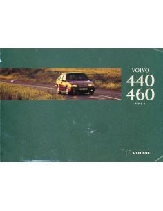 1996 VOLVO 440 460 INSTRUCTIEBOEKJE NEDERLANDS