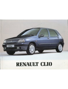 1995 RENAULT CLIO INSTRUCTIEBOEKJE NEDERLANDS