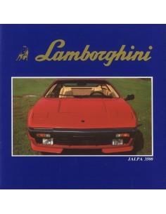 1981 LAMBORGHINI JALPA 3500 BROCHURE