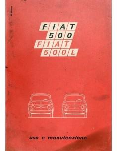 1971 FIAT 500 L INSTRUCTIEBOEKJE ITALIAANS