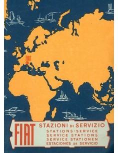 1961 FIAT SERVICE INSTRUCTIEBOEKJE