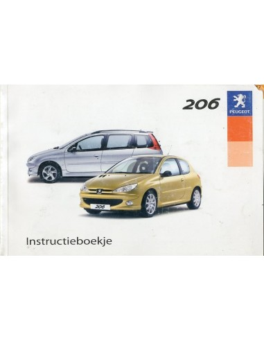 2003 peugeot 206 owners manual dutch rh autolit eu Peugeot 206 2.0L Ew10j4s14 Petrol Peugeot 206 1.4 Tune Up