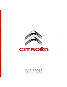 2012 CITROEN PARIJS PERSMAP DVD