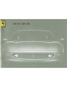 2000 FERRARI 456M GT & GTA PERSMAP ITALIAANS / ENGELS1340/98
